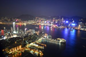 Hong Kong from Sky 100 - contact page